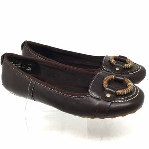 Timberland Women's Flat Shoes Size 7.5m Brown